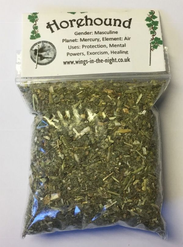 HOREHOUND Dried Herb - Healing, Protection, Exorcism